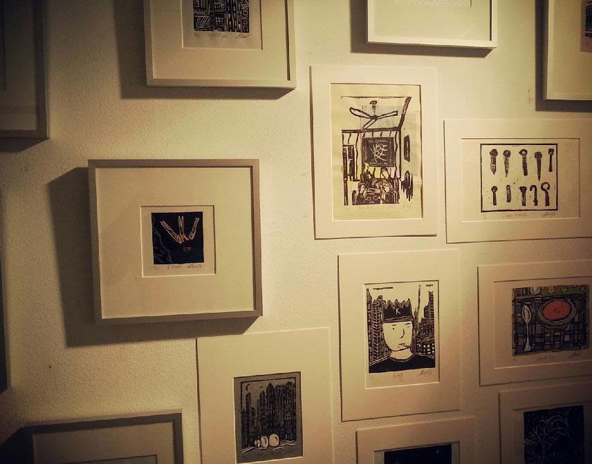 Linokunst: verkoop & productie